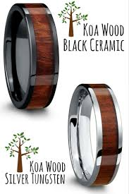 wedding ring alternatives for men mens wooden wedding rings these make such unique wedding rings