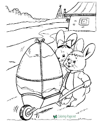 eggs easter coloring pages