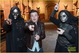 Chris Colfer Harry Potter Studio Tour In London Photo 2895088