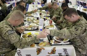 thanksgiving day 2012 in afghanistan 66k troops celebrate with