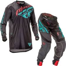 shot motocross gear fly racing 2016 lite hydrogen black teal motocross kit jersey