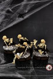 18 Easy Halloween Cupcake Ideas Recipes U0026 Decorating Tips For by Zombie Halloween Cupcakes Sweetest Kitchen