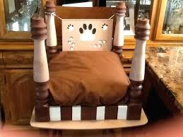 end table dog bed diy coffee table pet bed kojesledeci com