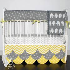 Yellow And Grey Baby Bedding Sets by Yellow Grey Bedding Previous Geometric Bedding Set In Full Queen
