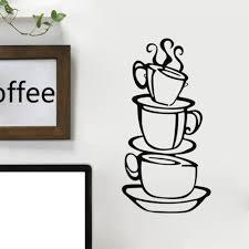 Instant Pot Decals Online Get Cheap Metal Coffee Cup Wall Decor Aliexpress Com