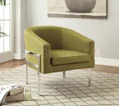 accent chairs green curved back accent chair coa 902531 2 ba stores