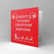 merry christmas mr commando greetings cards pig emporium