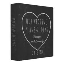 our wedding planner wedding planning custom binders zazzle