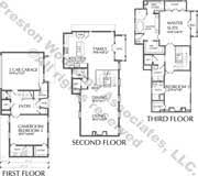 narrow home floor plans home plan ad6048