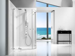 swinging shower screen corner glass axis mrf roca furniture