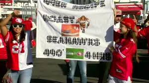 seahawks thanksgiving game 49ers fans spend thanksgiving at levi u0027s stadium hope for a win