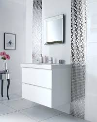 glass bathroom tiles ideas silver bathroom tiles justbeingmyself me
