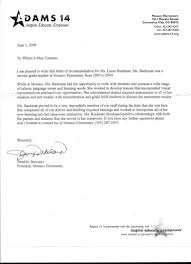 recommendation letter for student teachers template