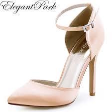 burgundy wedding shoes aliexpress buy high heel evening pumps blush