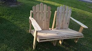 Adirondack Bench Wooden Pallet Adirondack Bench Chair Pallet Ideas Recycled