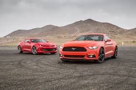mustang or camaro comparison 2016 chevrolet camaro rs vs 2016 ford mustang