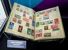 what corner does the stamp go on stamp collecting wikipedia
