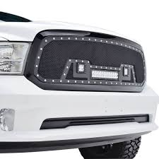 dodge ram white grill 13 16 dodge ram 1500 evolution stainless steel wire mesh packaged