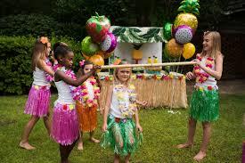 how to throw a luau party via blossom