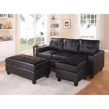 Black Sofa Sectional Black Sectional Sofas For Less Overstock