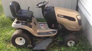 craftsman dys 4500 quick start u0026 ride youtube