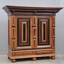 Grande Table Haute by Oak And Ebony Renaissance Cupboard De Grande Antique