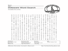 delaware word search 2nd 5th grade worksheet lesson planet