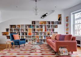 Interior Design Ideas Cats And Books Dictate Row House Redo - Row house interior design