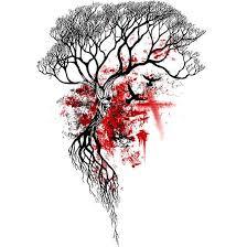 trends trash polka dead tree design tattooviral