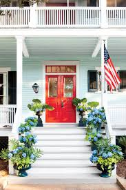 Red Door Spring Front Door Paint Ideas That Will Give Your Exterior An