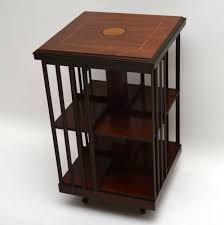 Oak Revolving Bookcase Painted Triple Low Long Bookcase Bespoke Office Furniture Pine
