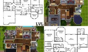 mansion blue prints trendy design ideas 15 blueprint house sims 3 plans mansion