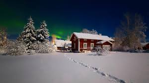 Winter House Night Tag Wallpapers Page 7 Lights Moon Sea Night City Fullmoon