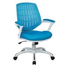 Osp Designs Turquoise Mesh Desk Chair Decorative Desk Decoration