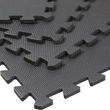 amazon com clevr interlocking gym eva foam floor mat tiles 24