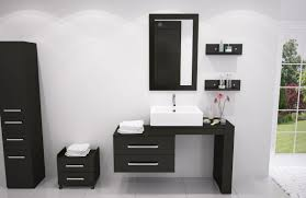 Metal Bathroom Shelving Unit by Rta Bathroom Cabinets White Vanities Glossy Black Front Side Small