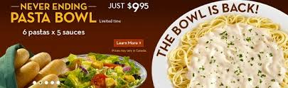 Olive Garden Never Ending Pasta Bowl Is Back - all you can eat starting at 9 99 olive garden red lobster