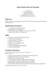 resume sample for cashier position cashier cover letter examples