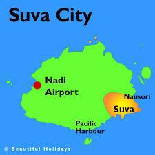 map of suva city holidays in suva city fiji beautiful suva hotels
