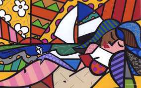 romero britto romero britto wallpapers art modern originals wallpaper