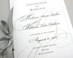 classic wedding programs folded wedding program classic wedding program with