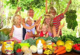 raw food parenting ka sundance of raw food family