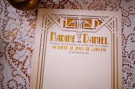 monogrammed wedding guest book great gatsby deco wedding guest book alternative laser