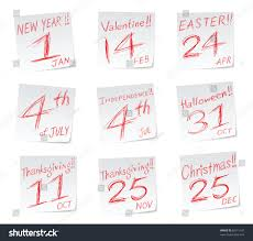 icons date calendar new year stock illustration 62615197
