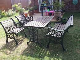 Wrought Iron Garden Furniture EBay - Outdoor iron furniture