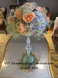 shabby chic wedding centerpiece under 30 youtube