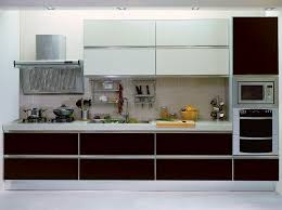 interior stunning kitchen design ideas with no handle cabinet
