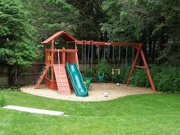 Best  Swing Set Plans Ideas On Pinterest Baby Swing Set - Backyard fort designs