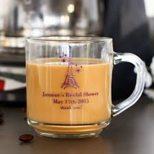 personalized 10 oz glass mugs with handle
