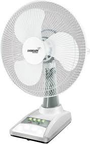Small Table Fan Price In Delhi Eveready 14 Inch Rf03 Rechargeable 3 Blade Table Fan Price In